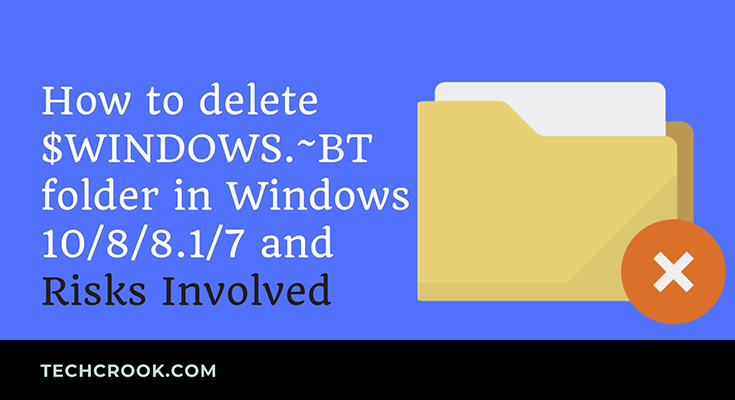 How to delete WINDOWS.old file in Windows 10/8/8.1/7 and risks involved