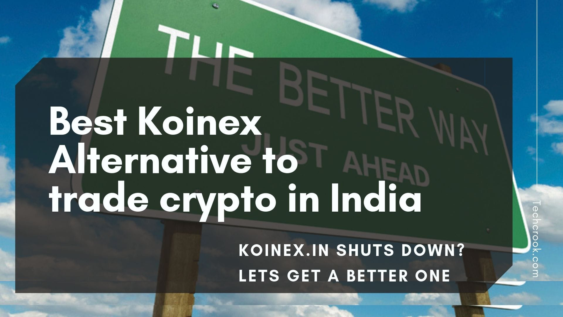 Best Koinex Alternative Cryptocurrency exchange in India