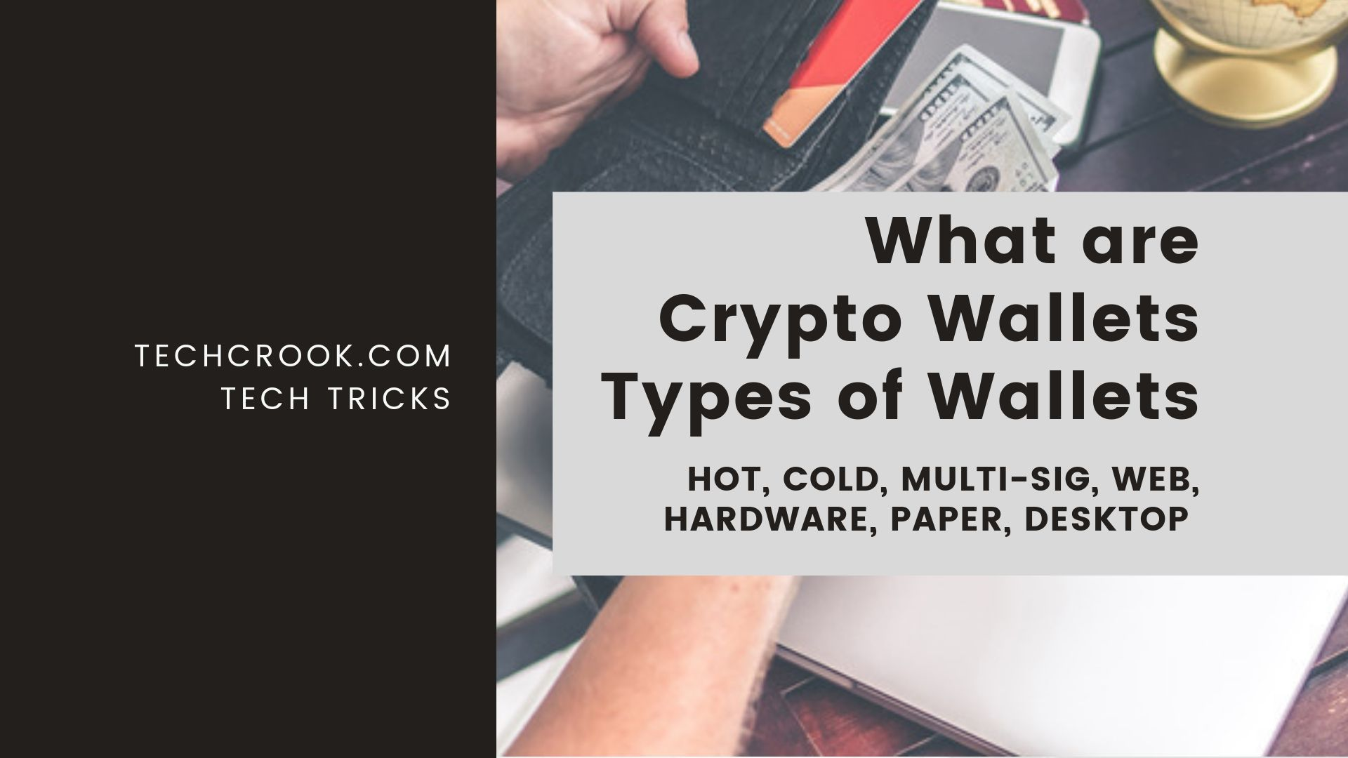 What is Cryptocurrency wallet? Types of wallets