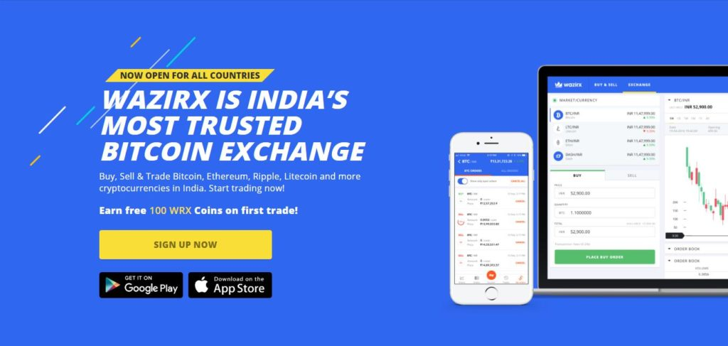 best cryptocurrency exchange in India Wazirx
