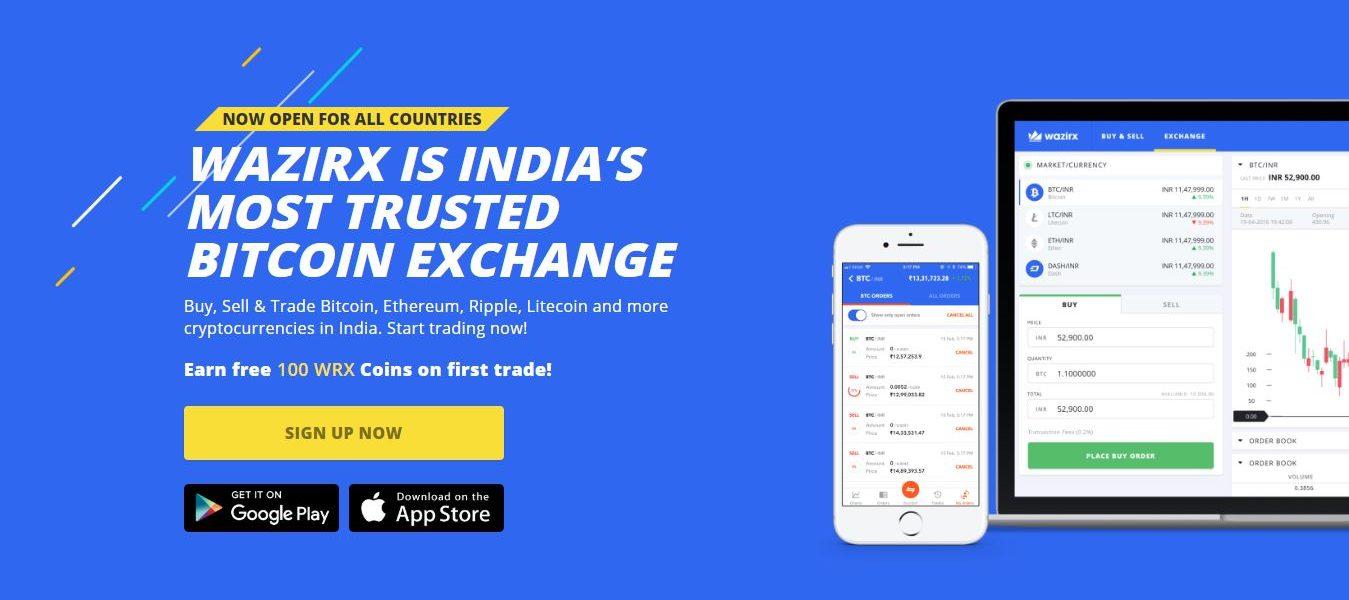 best cryptocurrency exchange in India Wazirx