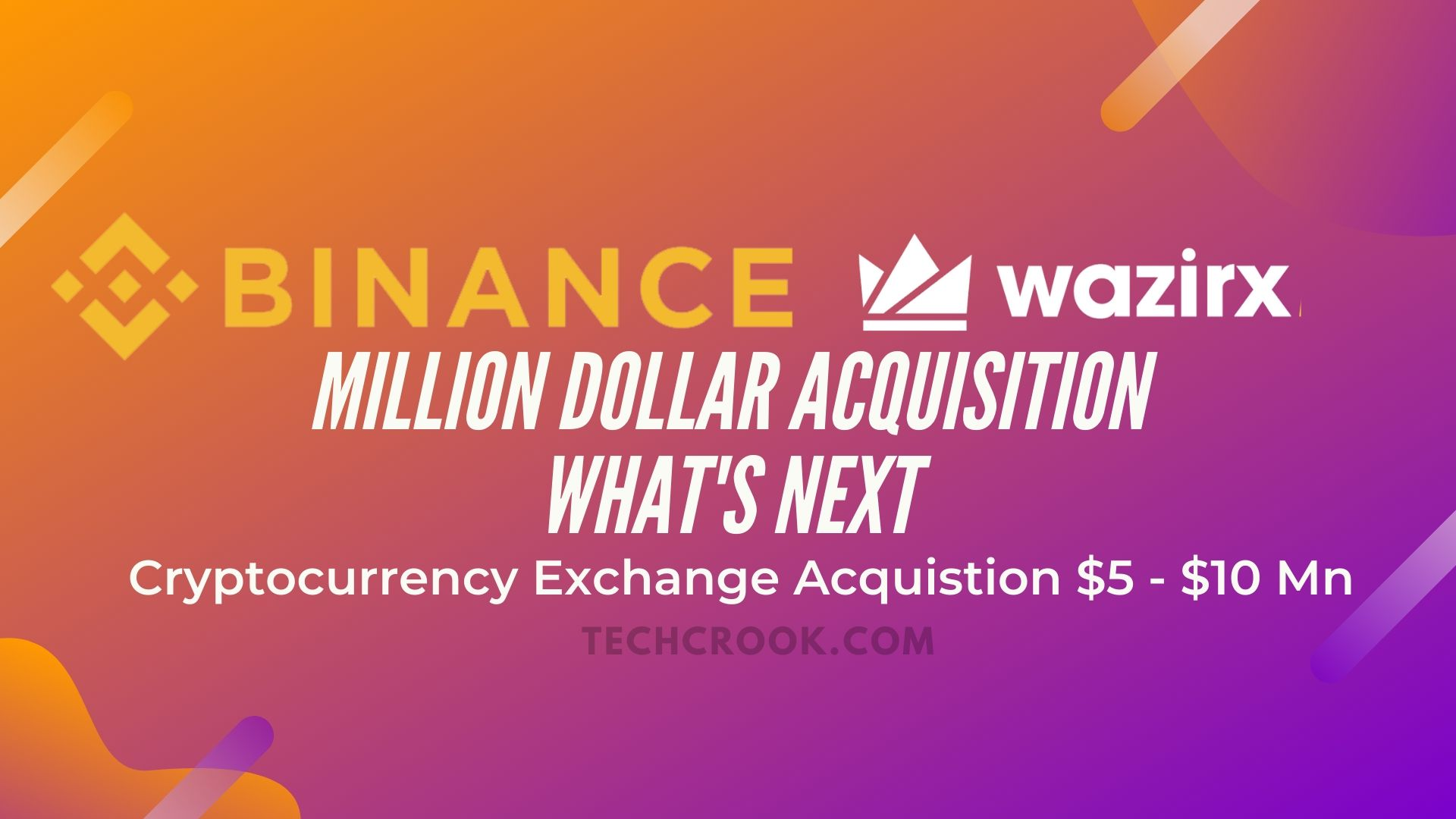 WazirX India now officially acquired by Binance
