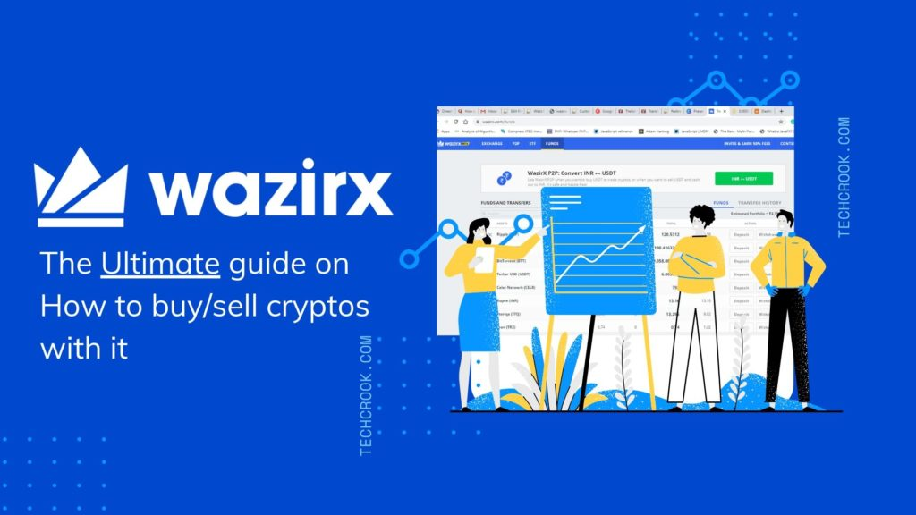 How to use WazirX to buy or sell cryptocurrencies