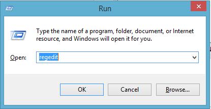 How to open regedit in Microsoft Windows