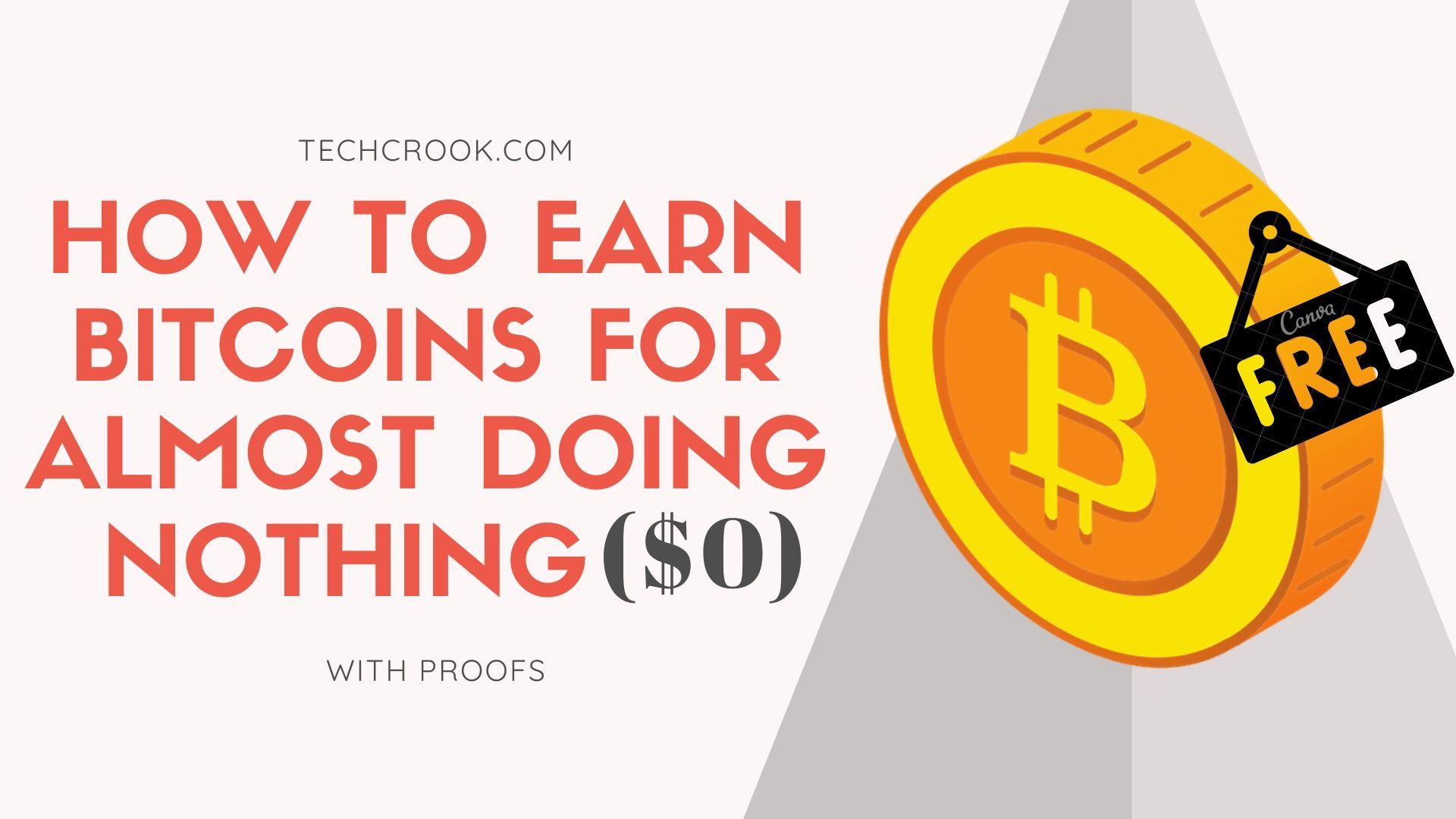 How to earn free bitcoins, satoshi