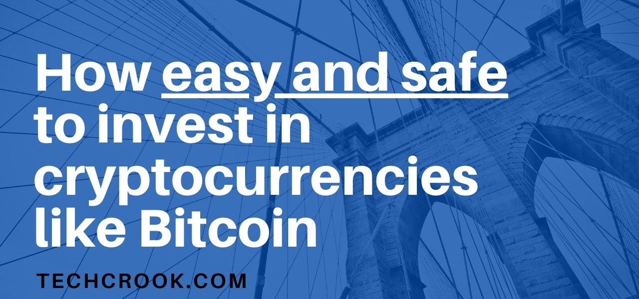 Is it safe to invest in cryptocurrencies like bitcoin