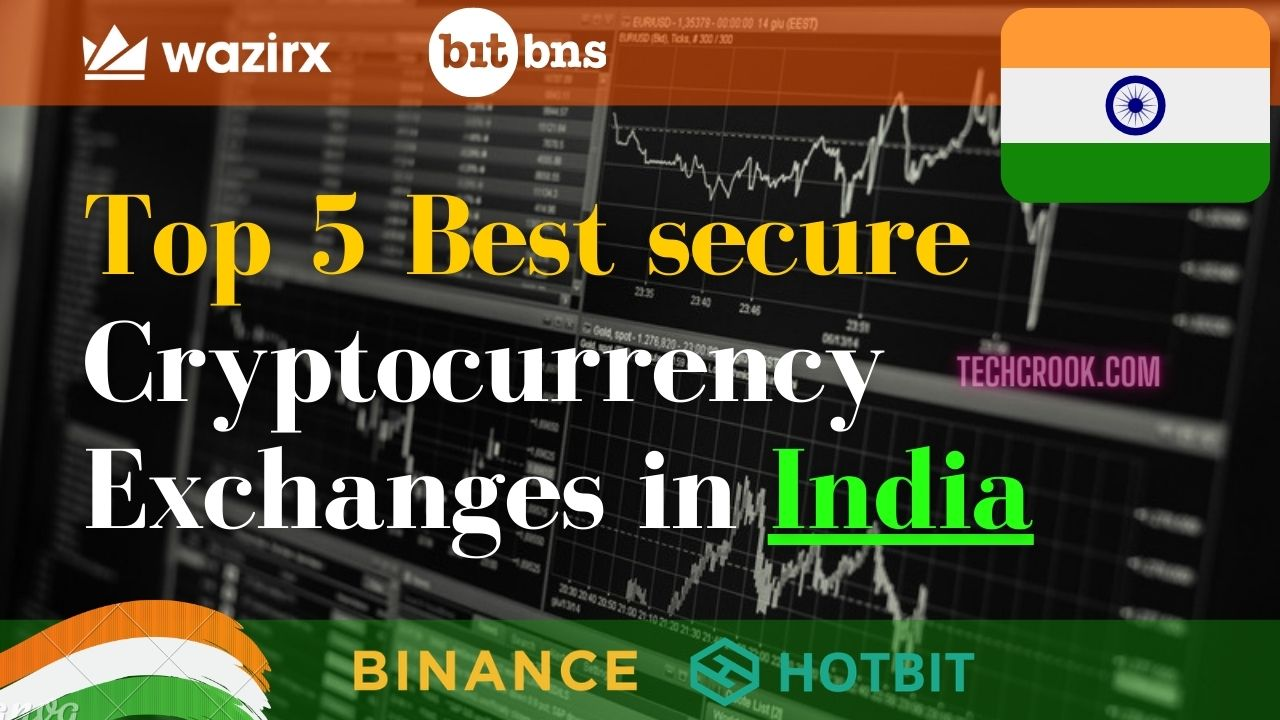 Top 5 Best and secure cryptocurrency exchanges in India