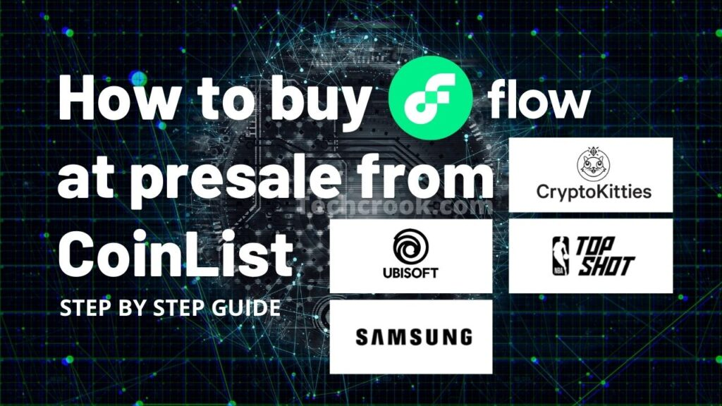 where and how to buy onflow FLOW token from CoinList