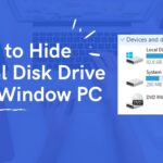 How to hide unhide local disk drives in Windows 7 8 10