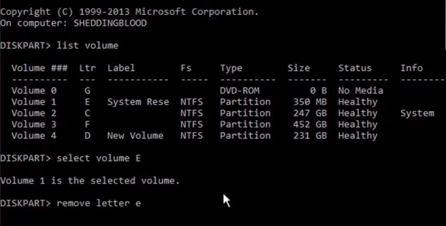 how to hide or unhide local disks in Windows 7/8/10