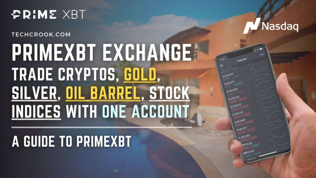 A brief guide to PrimeXBT to trade stocks, gold, silver with bitcoin