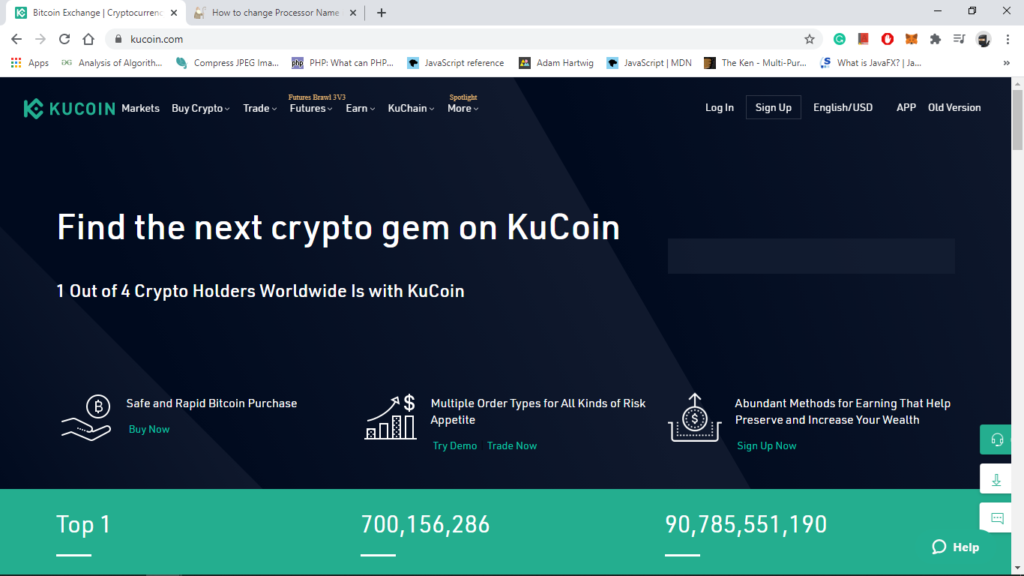Kucoin Exchange, best alternative to binance exchange