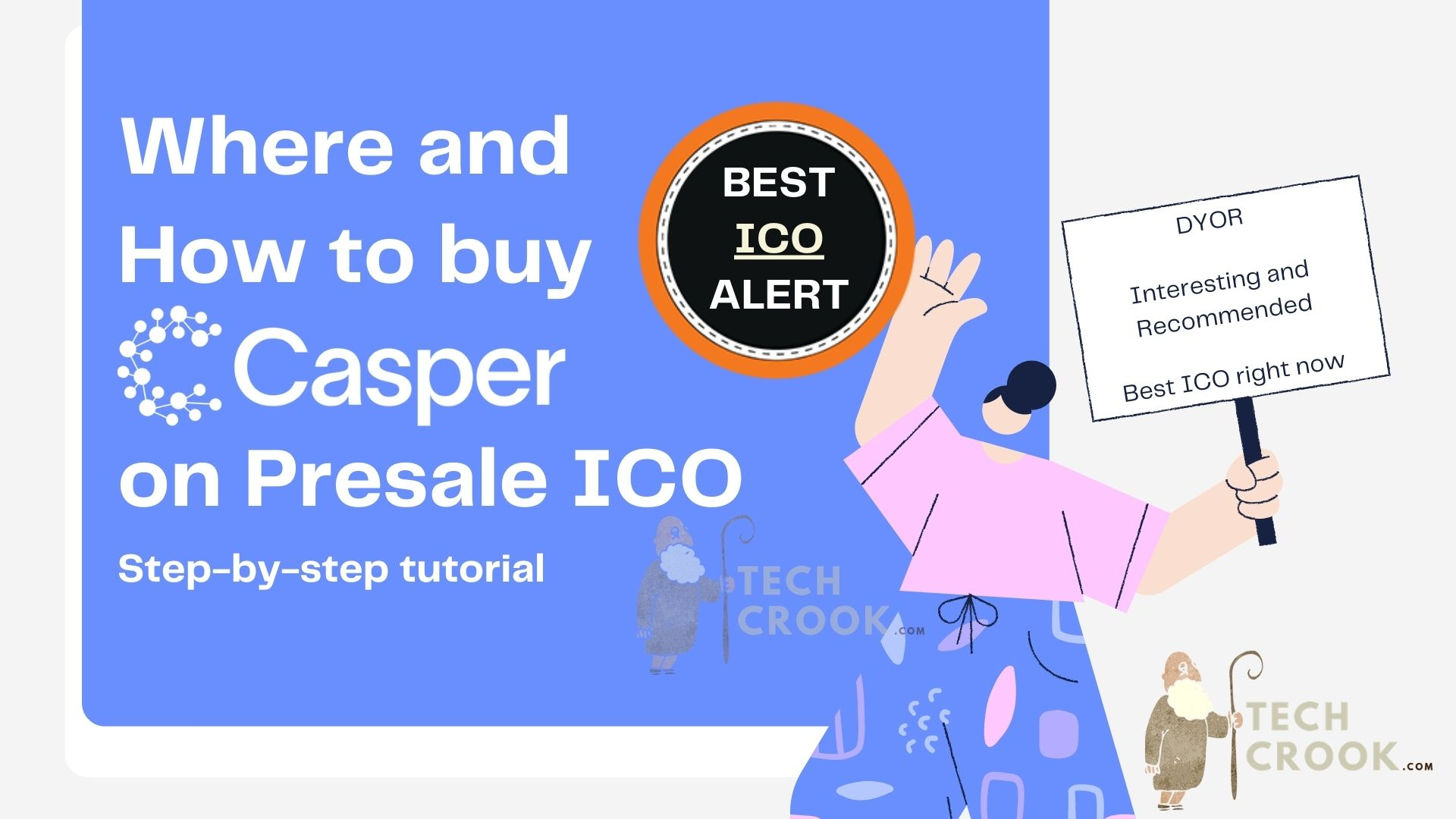 How and Where to buy Casper tokens from Coinlist in presale ICO
