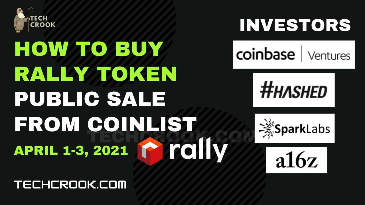 How and Where to buy Rally Token (RLY) from Presale/ICO from Coinlist