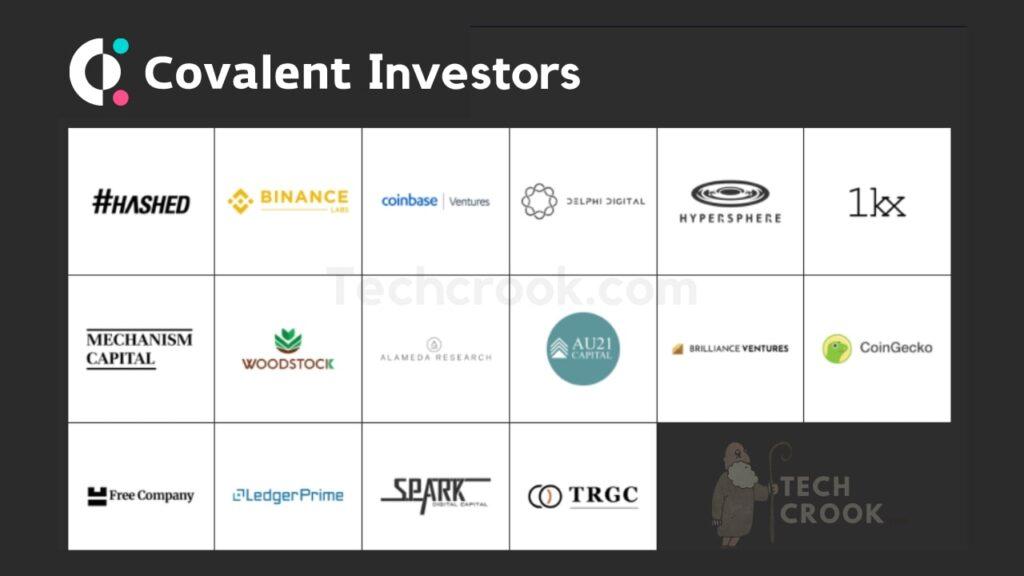 Covalent token ICO investors