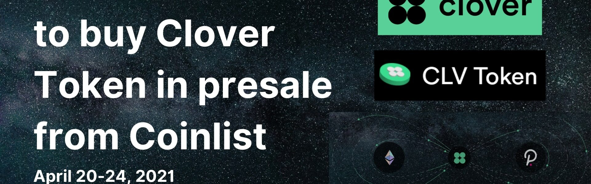 How and Where to buy Clover Token CLV ICO presale from Coinlist