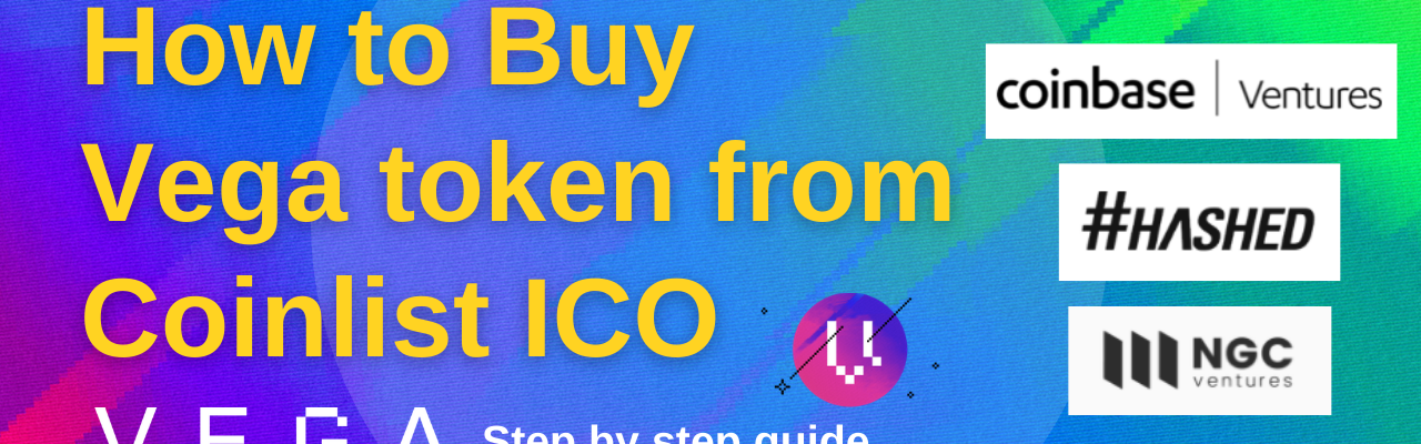 How to buy vega token sale ico from Coinlist