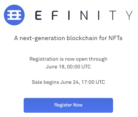 How to buy Efinity token in ICO coinlist step by step tutorial