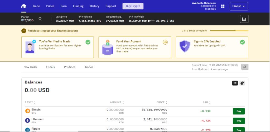 How to participate in Karura parachain Kraken KYC verification